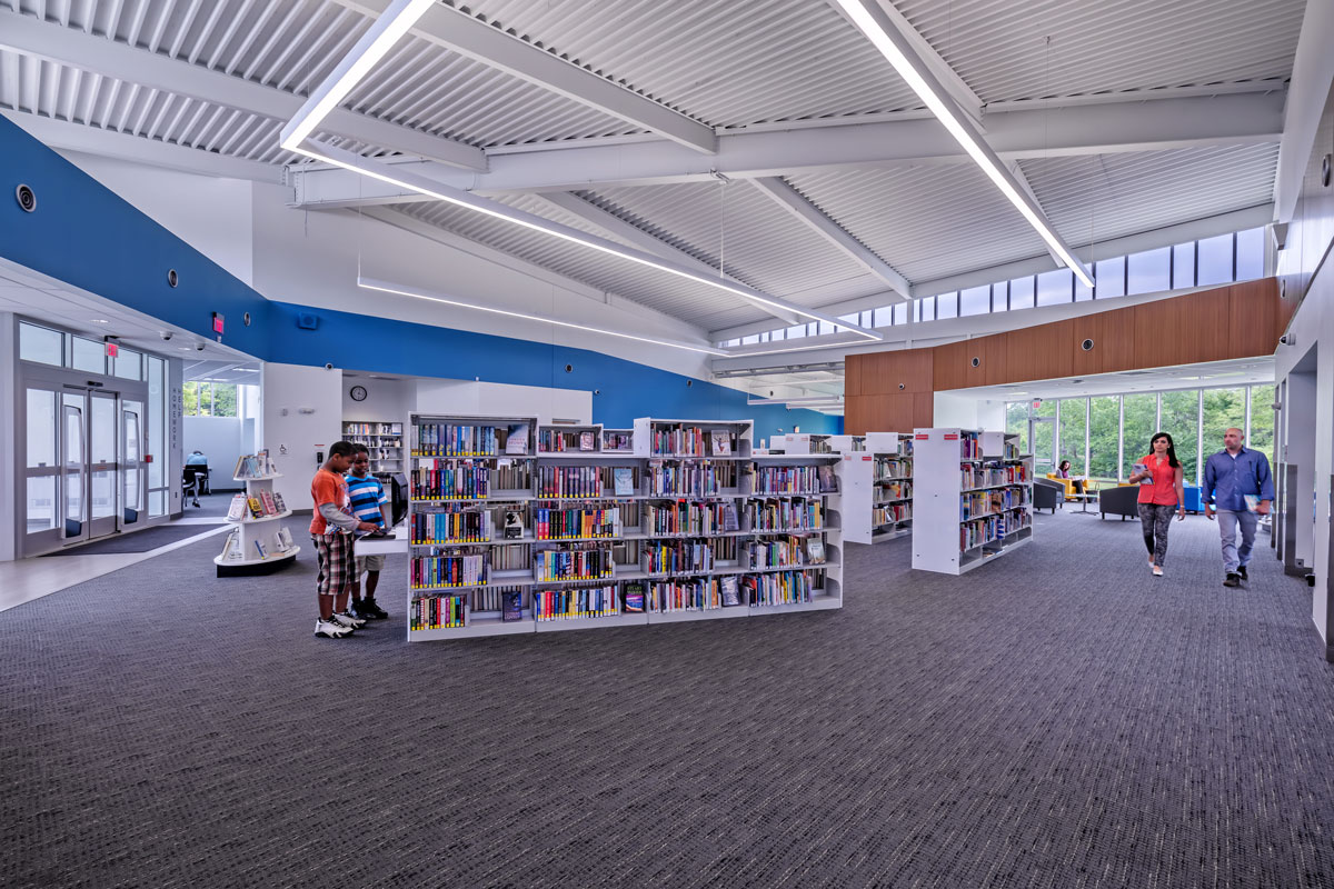 Shepard Library Main Interior
