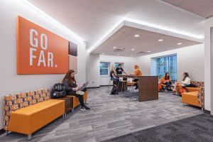 BGSU Study study and collaboration Space. University Hall