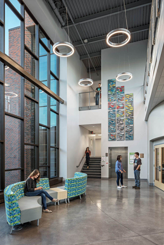 Grace College Science Center Lobby
